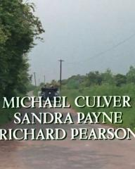 Main title from the 1985 'The Moving Finger' episode of Agatha Christie's Miss Marple (1984-1992) (6). Michael Culver, Sandra Payne, Richard Pearson