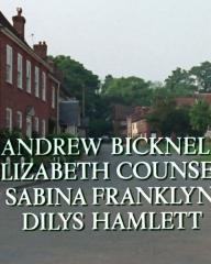 Main title from the 1985 'The Moving Finger' episode of Agatha Christie's Miss Marple (1984-1992) (7). Andrew Bicknell, Elizabeth Counsell, Sabina Franklyn, Dilys Hamlett