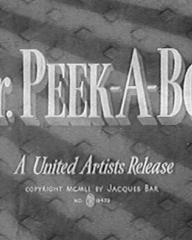 Main title from Mr. Peek-a-Boo (1951)