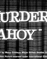 Main title from Murder Ahoy (1964)