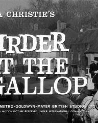 Main title from Murder at the Gallop (1963) (5)