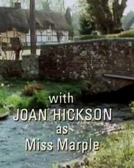 Main title from the 1986 'The Murder at the Vicarage' episode of Agatha Christie's Miss Marple (1984-1992) (4). With Joan Hickson as Miss Marple