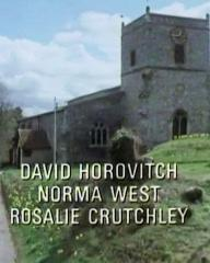 Main title from the 1986 'The Murder at the Vicarage' episode of Agatha Christie's Miss Marple (1984-1992) (7). David Horovitch, Norma West, Rosalie Crutchley
