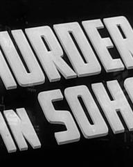 Main title from Murder in Soho (1939)