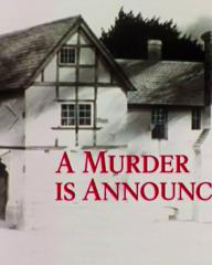 Main title from the 1985 'A Murder Is Announced' episode of Agatha Christie's Miss Marple (1984-1992) (2)