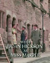 Main title from the 1985 'A Murder Is Announced' episode of Agatha Christie's Miss Marple (1984-1992) (5). With Joan Hickson as Miss Marple