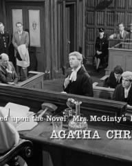 Main title from Murder Most Foul (1964) (13).  Based upon the novel 'Mrs McGinty's Dead' by Agatha Christie