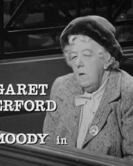 Main title from Murder Most Foul (1964) (4).  Margaret Rutherford Ron Moody in