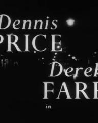 Main title from Murder Without Crime (1950) (2). Dennis Price, Derek Farr in