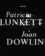Main title from Murder Without Crime (1950) (4). Patricia Plunkett, Joan Dowling