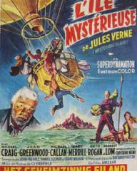 Belgian poster for Mysterious Island (1961) (1)