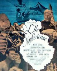 French poster for Mysterious Island (1961) (3)