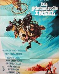 German poster for Mysterious Island (1961) (1)