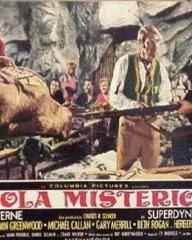 Italian lobby card from Mysterious Island (1961) (1)