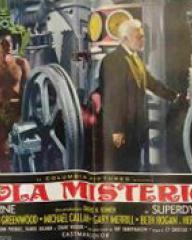 Italian lobby card from Mysterious Island (1961) (2)