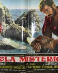 Italian lobby card from Mysterious Island (1961) (3)