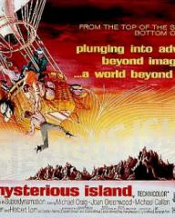 Poster for Mysterious Island (1961) (2)