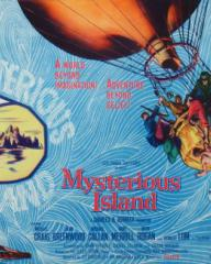 Poster for Mysterious Island (1961) (3)
