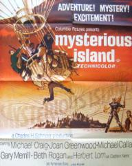 Poster for Mysterious Island (1961) (8)