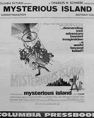 Pressbook for Mysterious Island (1961) (1)