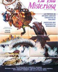 Spanish poster for Mysterious Island (1961) (1)