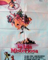 Spanish poster for Mysterious Island (1961) (2)