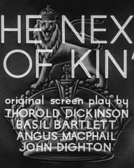 Main title from The Next of Kin (1942) (4)
