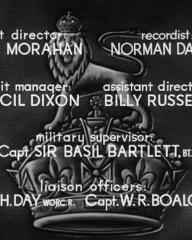 Main title from The Next of Kin (1942) (8)