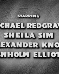 Main title from The Night My Number Came Up (1955) (6).  Starring Michael Redgrave Sheila Sim, Alexander Knox, Denholm Elliott