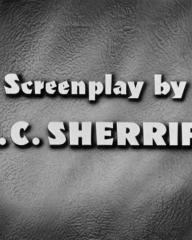 Main title from The Night My Number Came Up (1955) (8).  Screenplay by R C Sherriff