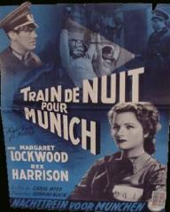 Belgian poster for Night Train to Munich (1940) (1)