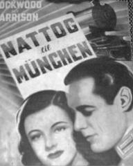 Danish poster for Night Train to Munich (1940) (1)