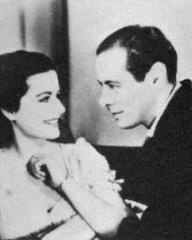 Margaret Lockwood (as Anna Bomasch) and Rex Harrison (as Gus Bennett) in a photograph from Night Train to Munich (1940) (6)