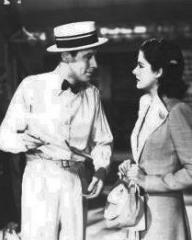 Rex Harrison (as Gus Bennett) and Margaret Lockwood (as Anna Bomasch) in a photograph from Night Train to Munich (1940) (8)