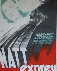 Swedish poster for Night Train to Munich (1940) (1)