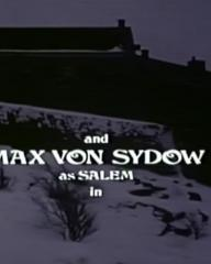 Main title from The Night Visitor (1971) (7). And Max Von Sydow as Salem in