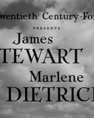 Main title from No Highway (1951) (2). James Stewart, Marlene Dietrich
