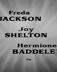 Main title from No Room at the Inn (1948) (3). Freda Jackson, Joy Shelton, Hermione Baddeley in