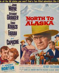 Poster for North to Alaska (1960) (3)