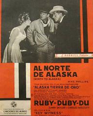 Spanish poster for North to Alaska (1960) (1)