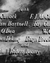Main title from Odd Man Out (1947) (5).  With Cyril Cusack William Hartnell, Denis O'Dea, Maureen Delaney, F J McCormick, Fay Compton, W G Fay, Elwyn Brook-Jones and Robert Beatty