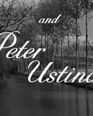 Main title from Odette (1950) (6). And Peter Ustinov