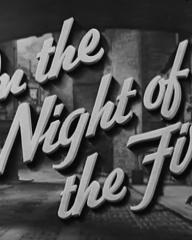 Main title from On the Night of the Fire (1939) (3)