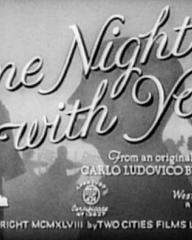 Main title from One Night with You (1948)