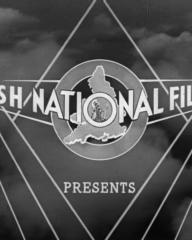 Main title from One of Our Aircraft Is Missing (1942) (3). British National Films Ltd presents