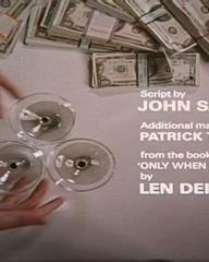 Main title from Only When I Larf (1968) (15)