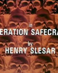 Main title from the 1982 'Operation Safecrack' episode of Tales of the Unexpected (1979-1988) (4). By Henry Slesar