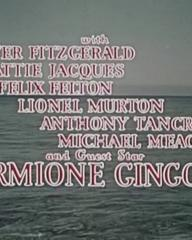 Main title from Our Girl Friday (1953) (4). Walter Fitzgerald, Hattie Jacques, Felix Felton, Lionel Murton, Anthony Tancred and guest star, Hermione Gingold