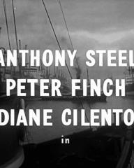 Main title from Passage Home (1955) (3).  Anthony Steel Peter Finch, Diane Cilento in