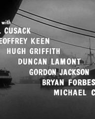 Main title from Passage Home (1955) (5).  With Cyril Cusack Geoffrey Keen, Hugh Griffith, Duncan Lamont, Gordon Jackson, Bryan Forbes, Michael Craig